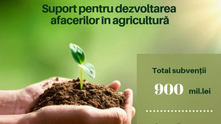 Pavel Filip: Farmers to receive state aids worth 900 million lei
