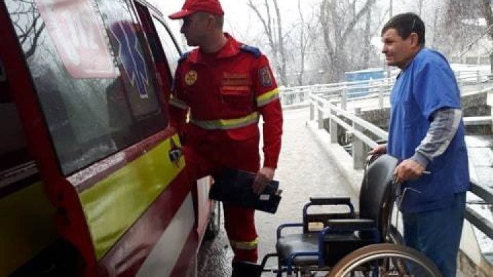 Moldovans injured in an accident that occurred in Ukraine have been brought home (PHOTO)