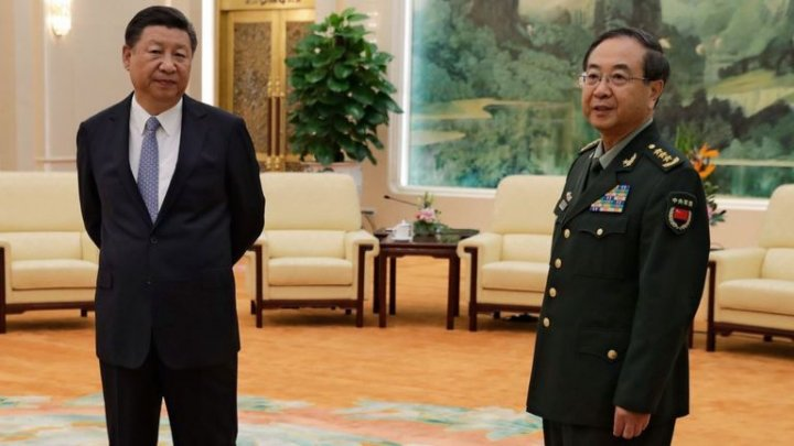 China's top general prosecuted life sentence for corruption