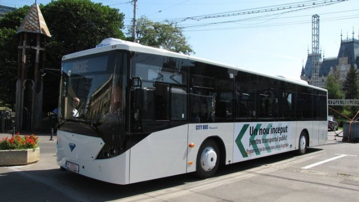 31 buses with air conditioning will run on Chisinau streets by year end