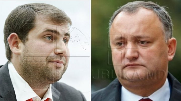 What's inside the bag leader of Şor party sent President Igor Dodon