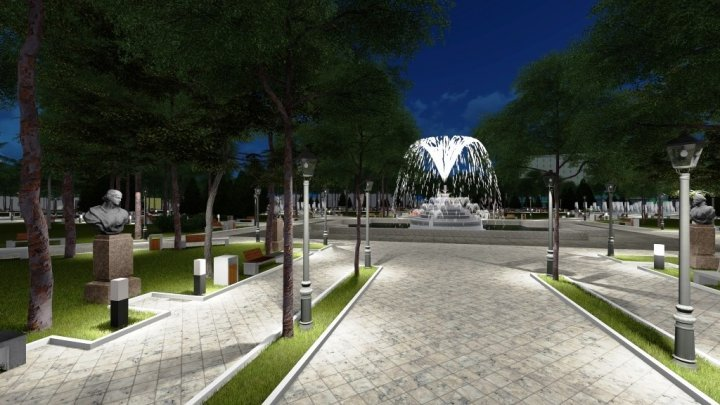 Public Garden Stefan Cel Mare to celebrate 200th birthday with new appearance