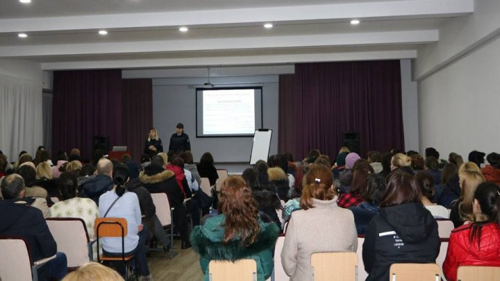 Actions taken by Chisinau Police to ensure children future