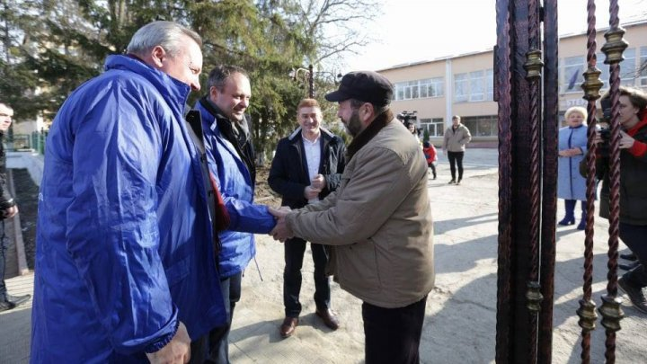 PDM delegation in Hânceşti. Locals valued Democratic Party: They are trustworthy, more actions, less words