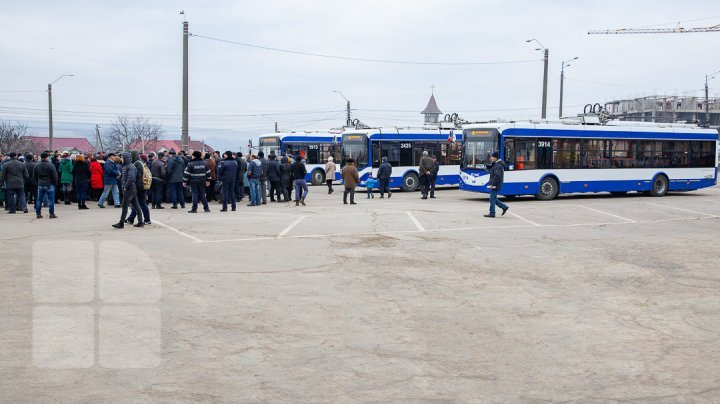 More trolleybuses no. 36 to reach Ialoveni