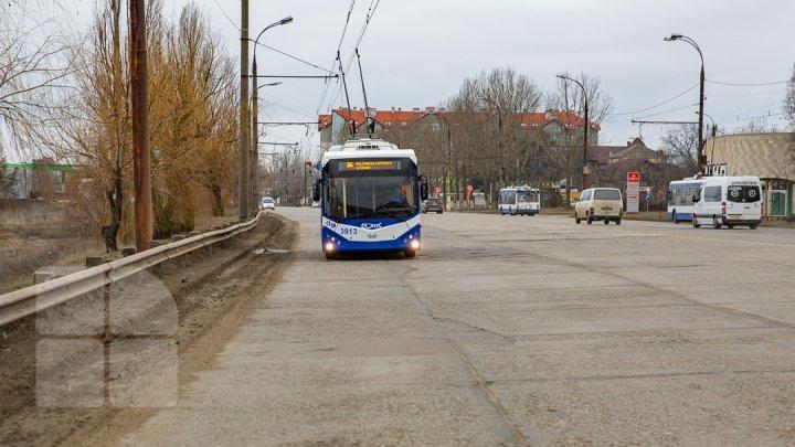 More trolleybuses no. 36 to reach Ialoveni