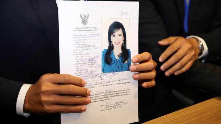 Stunning move! Thai king's sister nominated for PM in March election