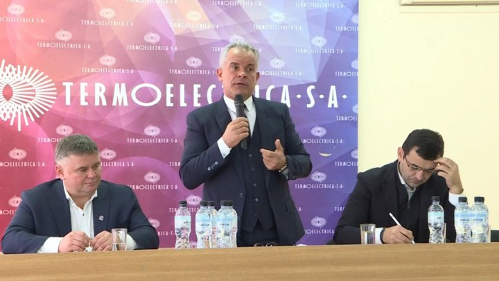 Vlad Plahotniuc visited Electricity Center no.2: Situation of company is improved, employees are happy with working conditions