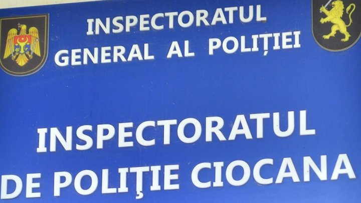 Ciocana Police Inspectorate cars vandalized by a mentally ill person