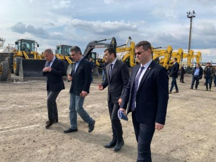 Chiril Gaburici verified repair and construction of national road M3