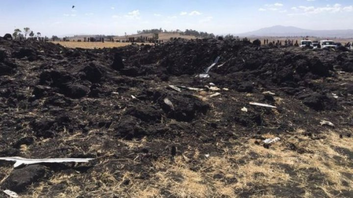 Ethiopian Airlines jet has crashed shortly after take-off from Addis Ababa, killing all on board