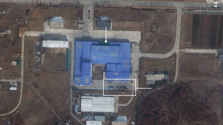 Images reveal North Korea may be preparing to launch a missile