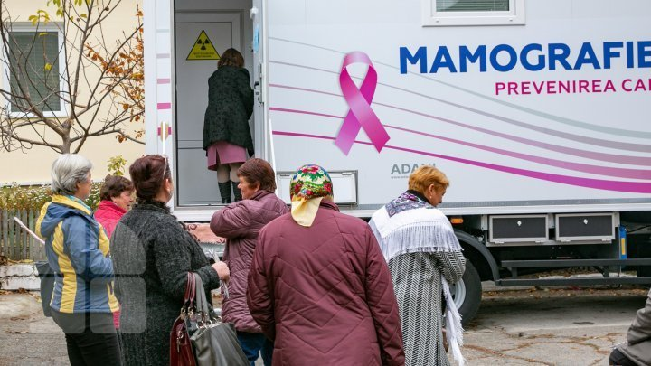 14 patients who suffer of breast cancer saved due to mobile mammography project
