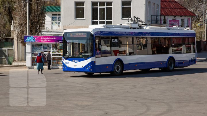New trolleybus route reaching Bubuieci village. When is it set off
