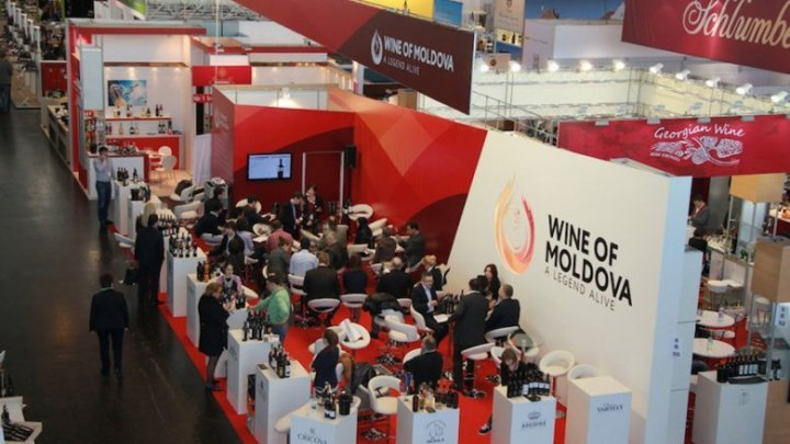 Dozens Moldovan winemakers participated in the world largest wine exhibition in Germany