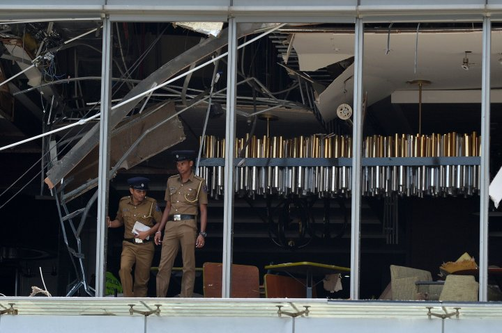 Sri Lanka bombings at churches and hotels said to kill almost 200