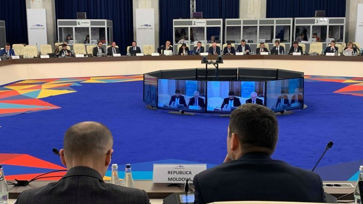 Chiril Gaburici attends Ministerial Meeting of the Eastern Partnership on Energy