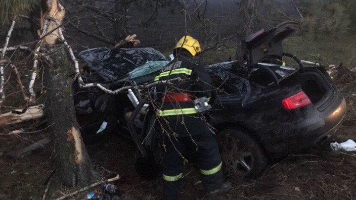 Tragic ACCIDENT near Drochia. A young man died and two girls got to the hospital with serious fractures