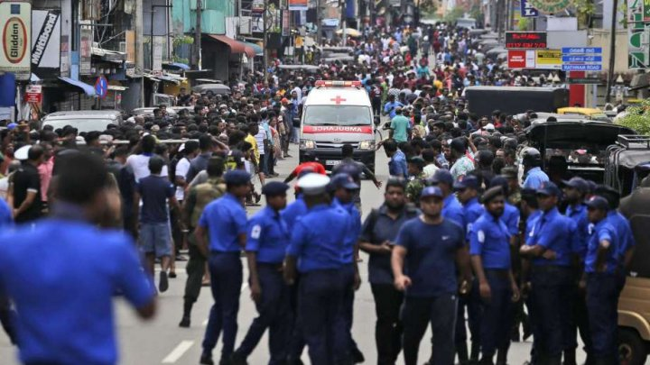 Who is blamed of Sri Lanka attacks