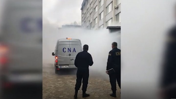 FIRE AT CNA. Employees and detainees were evacuated. What happened and how the National Anti Corruption Center saved the situation