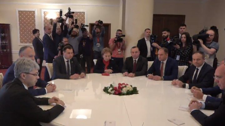 Consultations initiated by President Igor Dodon are underway