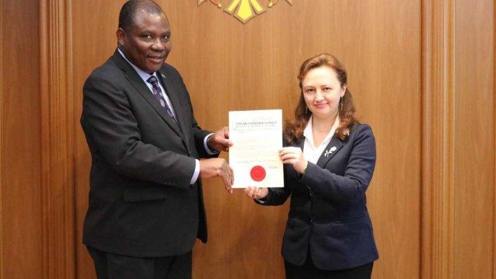 New Zambian Ambassador to the Republic of Moldova residing in Moscow, Shadreck Luwita