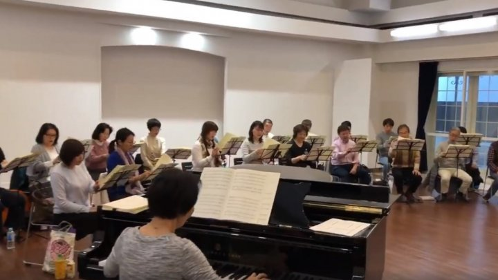 """Limba Noastra"" was sung in Tokyo. A Famous japanese Choir sang the Hymn to the Embassy of Moldova in Japan"