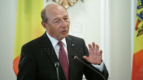 Traian Băsescu: Moldovan parliament elections were right and fair
