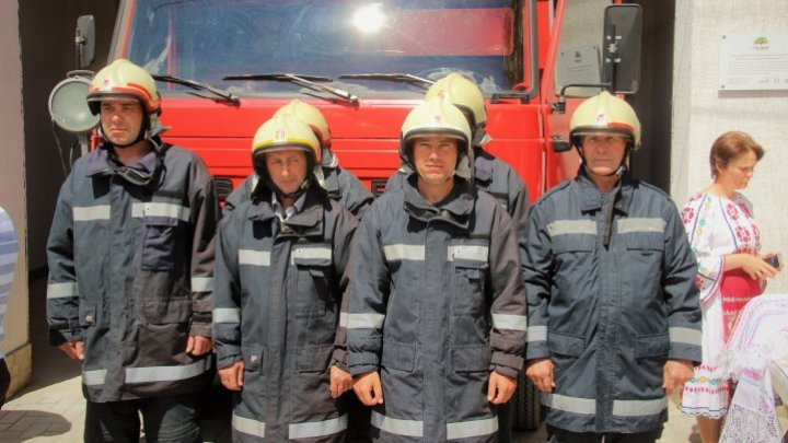 New voluntary rescuers post inaugurated in Lozova. The station was open due to IGSU support (PHOTO)