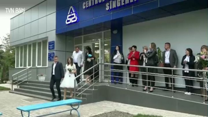 Awesome wedding at Public Service Agency: Two PSA officers met and fell head over heels in love at work