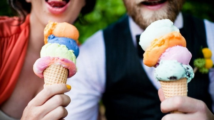 Ice-cream is the Moldovan's favorite dessert. Surveys prove that a lot of people consume it
