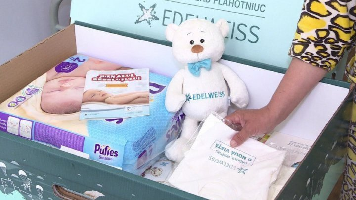 A New Life: Over 13,000 mothers offered gift boxes with necessary products for first months of babies