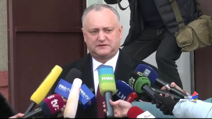 President Igor Dodon deleted the proof which indicated that he was lackey following someone else's order