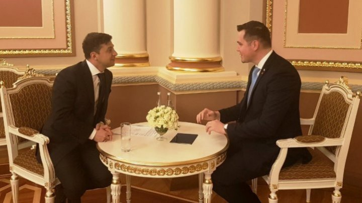 Tudor Ulianovschi held meeting with Volodymyr Zelensky: I reiterated the interest of Moldova to improve the bilateral relationship with Ukraine