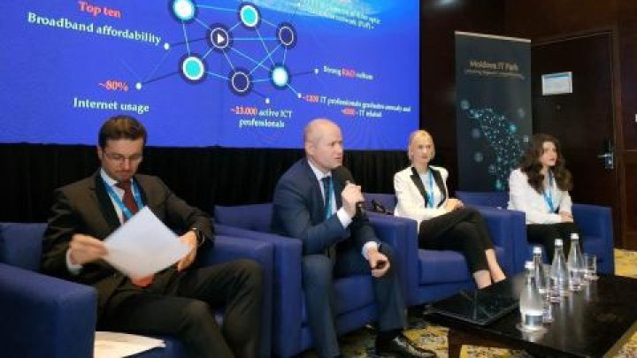 Moldova IT Park's benefits presented in Bucharest Tech Week
