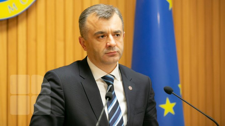 Ion Chicu presented report about financial condition of Moldova in these days