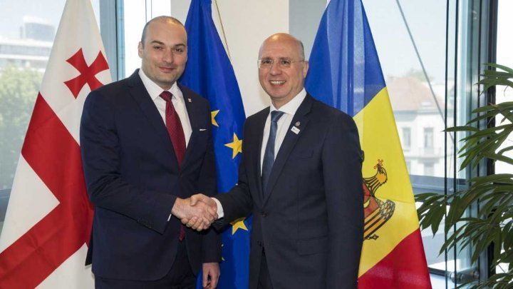 PM Filip met with Georgian PM Mamuka Bakhtadze: Countries are interested in new impetus to EaP