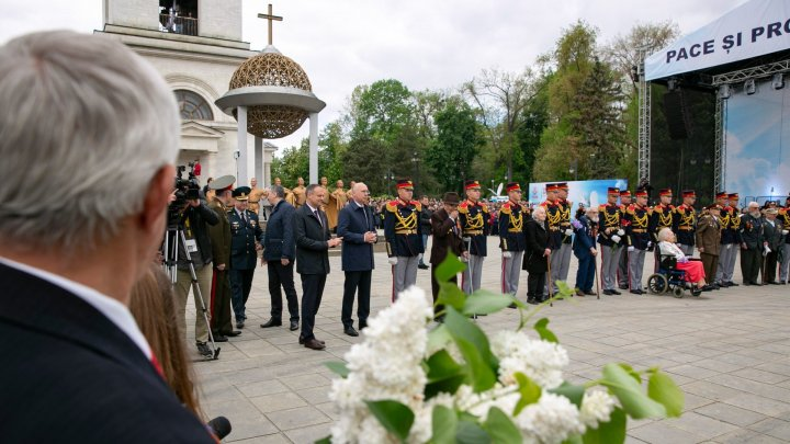 Peace and Prosperity conveyed in PDM's events dedicated to Victory Day and Europe Day