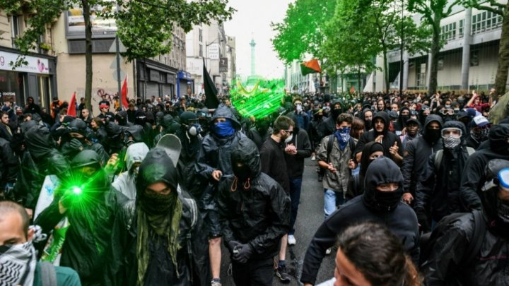 Security strengthened amid France's May Day protests