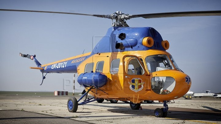 The minor girl that was severely wounded in the Opaci accident was urgently transported by the helicopter to Chisinau
