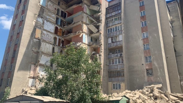 Victims of Otaci crashed block of flats are mad on Government