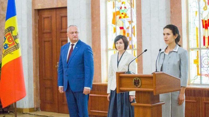 A new Minister every two weeks. Olesea Stamate has been invested into the function of Minister of Justice