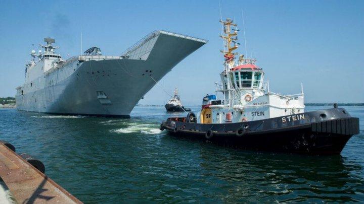 Russia naval drills exercises near NATO