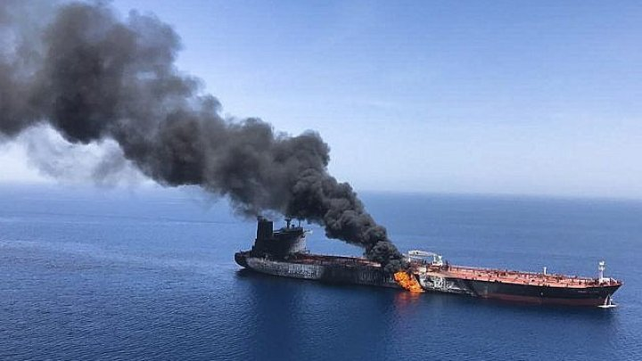 Two oil tankers have been attacked in the Gulf of Oman