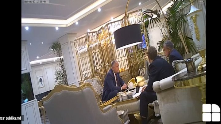 Video evidence 3: Dodon asks Plahotniuc for money and says Russia was paying him up to 700 thousand USD monthly