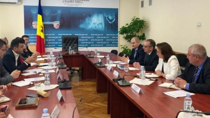 Minister Gaburici met with EEC Managing Director at European Bank for Reconstruction and Development for Eastern Europe