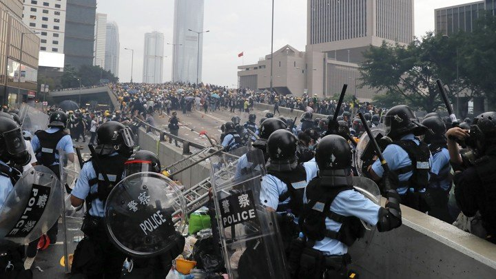 Mass protests take place in Hong Kong. It already became their identity