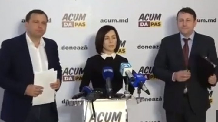 ACUM alliance: Igor Dodon is a traitor that wants to federalize Moldova! (VIDEO)