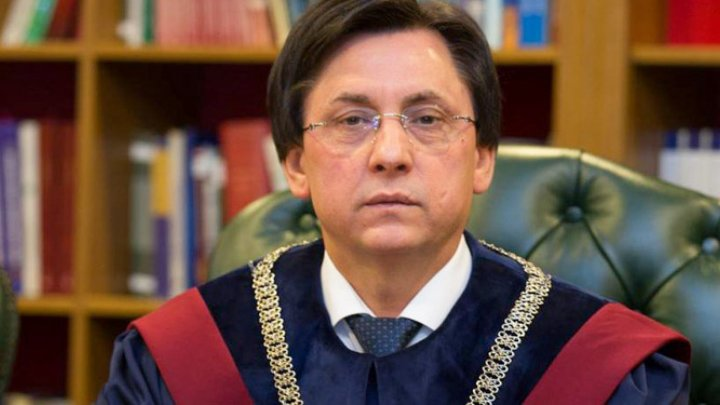 Mihai Poalelungi has resigned from the judge function and president of the Constitutional Court