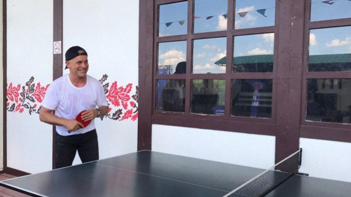 UNIQUE MOMENTS: Vlad Plahotniuc and Pavel Filip are playing tennis!